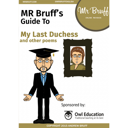 Mr Bruffs Guide to My Last Duchess eBook