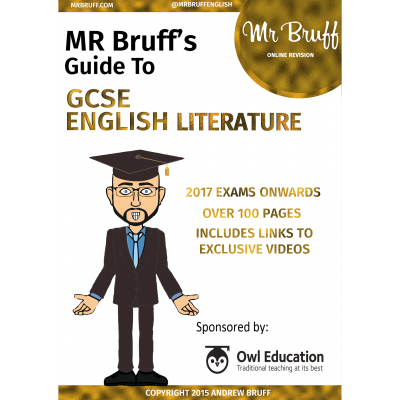 Mr Bruffs Guide to GCSE English Literature