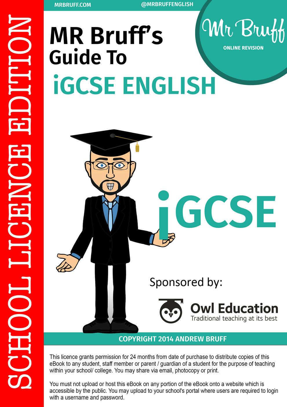 literature coursework igcse