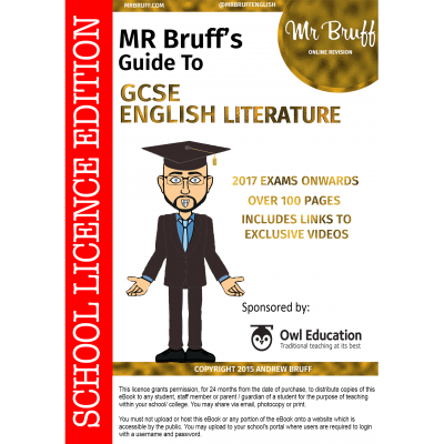 Mr-Bruffs-Guide-to-GCSE-English-Literature-School-Licence-Edition