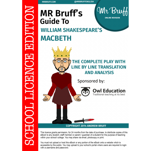 Mr-Bruffs-Guide-to-William-Shakespeares-Macbeth-School-Licence-Edition
