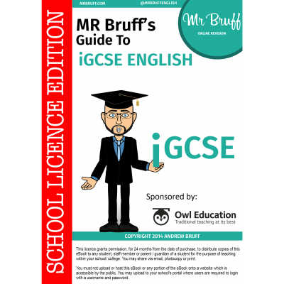 Mr-Bruffs-Guide-to-iGCSE-English-School-Licence-Edition