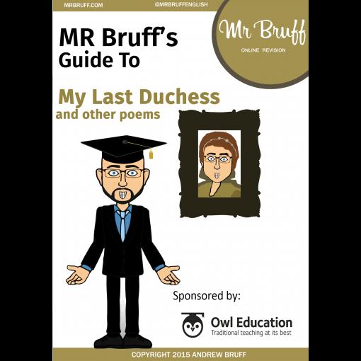 Mr Bruffs Guide to My Last Duchess eBook
