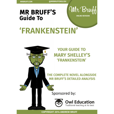 Mr Bruffs Guide to Frankenstein eBook