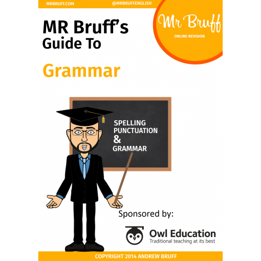 Mr Bruffs Guide to Grammar eBook