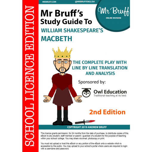 Mr-Bruffs-Guide-to-William-Shakespeares-Macbeth-2nd-edition-School-Licence-Edition