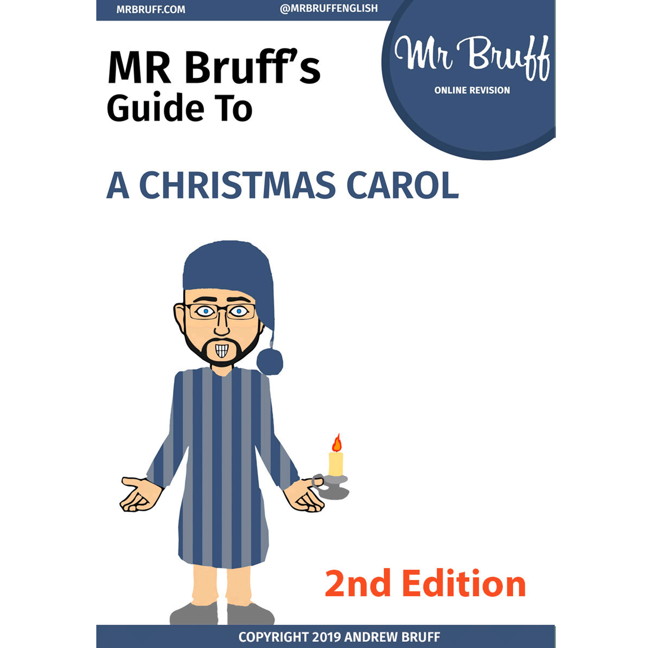 Christmas Carol Text Guide.Mr Bruff S Guide To A Christmas Carol 2nd Edition Ebook