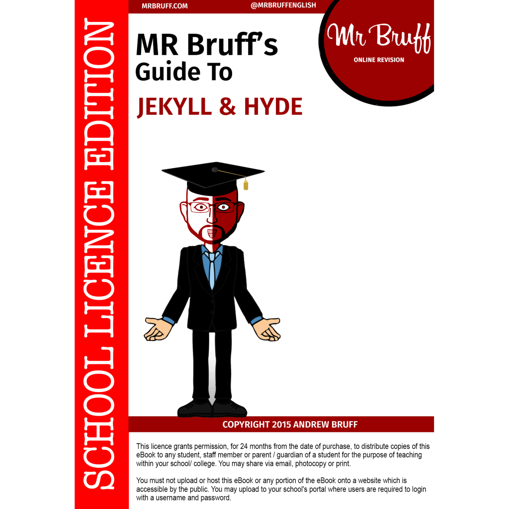 mr bruffs guide to jekyll and hyde school licence