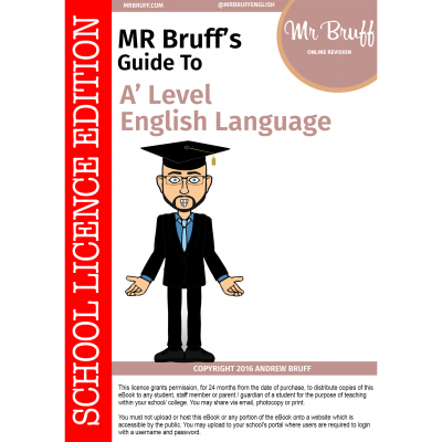 Mr-Bruffs-Guide-to-A-Level-English-Language-School-Licence-Edition